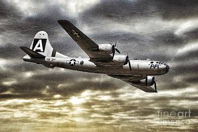 Photograph - Flying Fortress  by AK Photography