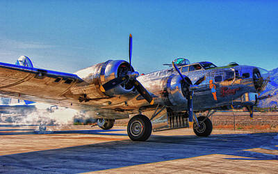 Flying Fortress Sentimental Journey Art Print