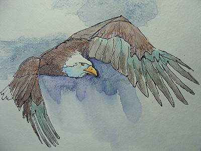 Flying Free Art Print by Judy Fischer Walton