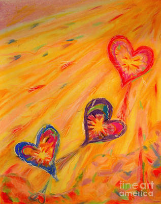 Pastel - Flying Hearts by Kelly Athena