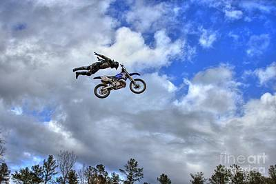 Photograph - Flying High At Durhamtown Not Photoshop by Reid Callaway