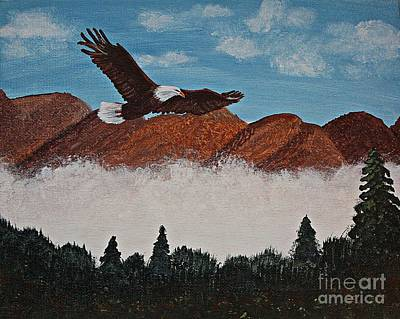 Flying High Art Print by Barbara Griffin