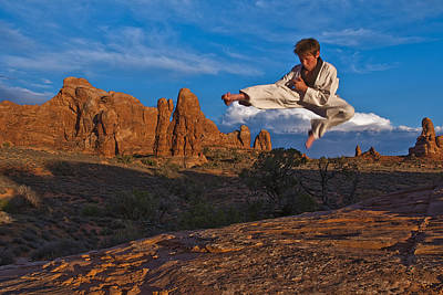 Flying High Art Print by Nichon Thorstrom