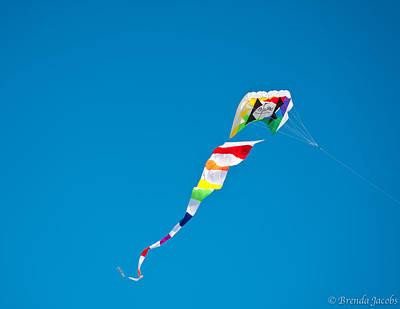 Photograph - Flying High On Hampton Beach by Brenda Jacobs