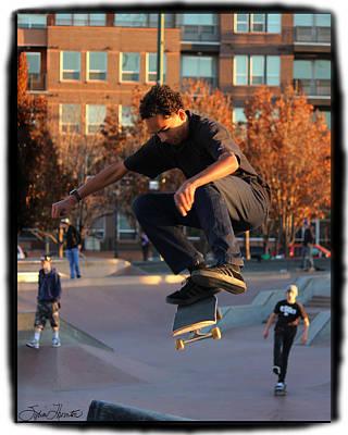 Photograph - Flying High by Sylvia Thornton