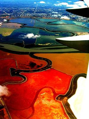 Photograph - Flying Into Sfo by Elizabeth Hoskinson