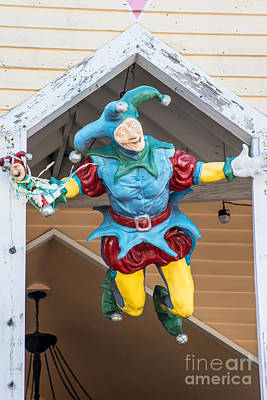 Jester Photograph - Flying Jester Duval Street Key West by Ian Monk