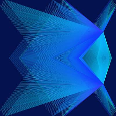 Digital Art - Flying by Karo Evans