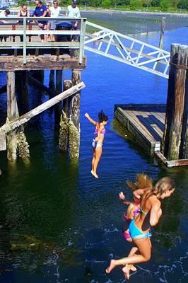 Photograph - Flying Mermaids by Glenn McCurdy