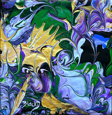 Painting - Flying Monkey by Donna Blackhall