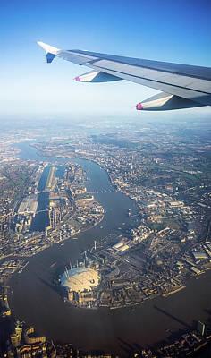 Flying Over London Art Print by Georgeclerk