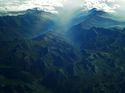 Flying Over The Alps  In Europe Original by Colette V Hera  Guggenheim