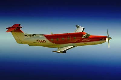Flying Art Print by Paul Job