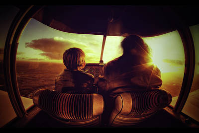 Escape Photograph - Flying by Sebastien Lory