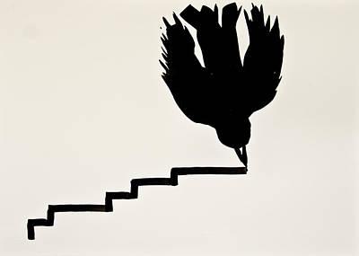 Flying Sign.2 Original by Lilian Istrati