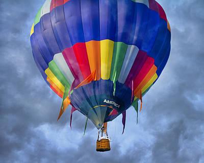 Egret Digital Art - Flying The Coop by Betsy Knapp