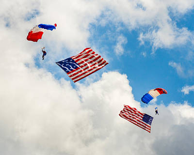 Photograph - Flying The Flag by Bill Pevlor