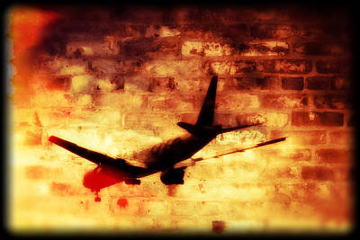 Painting - Flying Through Hell by Doc Braham