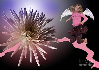 Digital Art - Flying To The Top by Angelika Drake