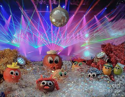Dancefloor Photograph - Foam On The Dance Floor Better Than In The Glass by Lyudmila Prokopenko