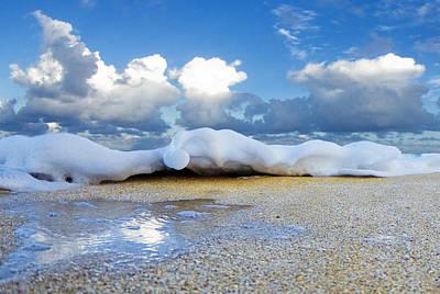 Dream Like Photograph - Foam Shuffle by Sean Davey