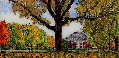 Foellinger In The Fall Original by Phil Strang