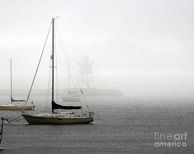 Photograph - Fog by A K Dayton