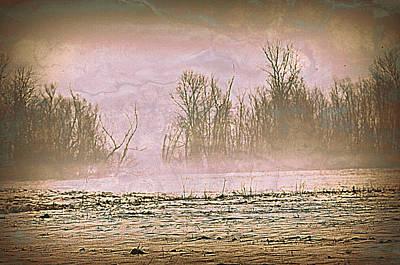 Fog Abstract 2 Art Print by Marty Koch