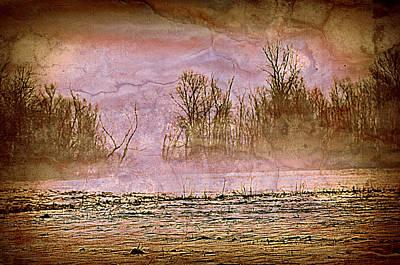 Fog Abstract 3 Art Print by Marty Koch