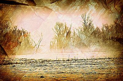 Fog Abstract 5 Art Print by Marty Koch