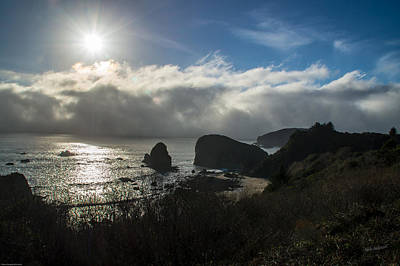 Photograph - Fog And Sun On The Oregon Coast by Mick Anderson