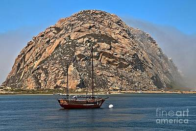 Photograph - Fog At Morro Bay by Adam Jewell
