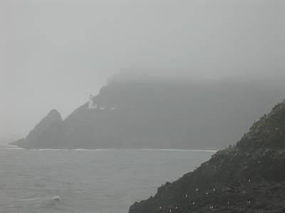 Photograph - Fog At The Coast by Yvette Pichette