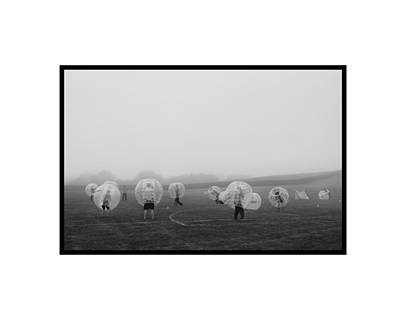 Fog Ball Art Print by Kyle V Smith