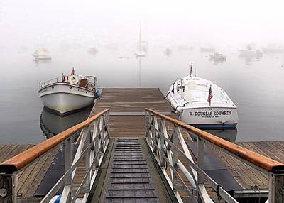 Photograph - Fog Beyond The Ramp by Janice Drew