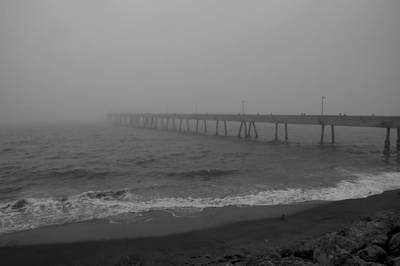 Photograph - Fog City Pier 2 by Bob Wall