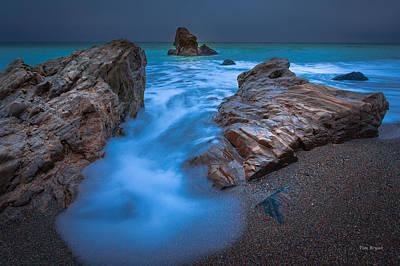 Photograph - Blue Veil------  San Simeon by Tim Bryan