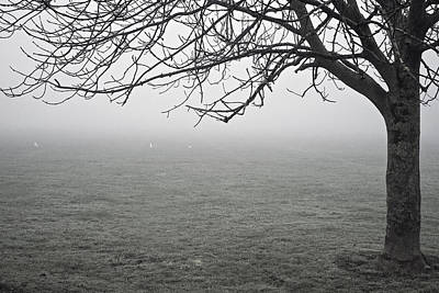 Photograph - Fog Encroaching by Christopher Rees