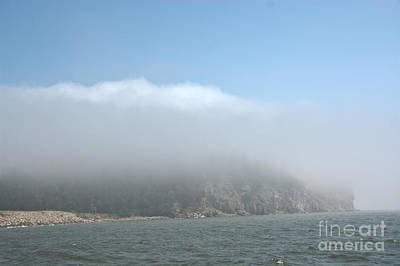 Photograph - Fog In Alma New Brunswick by Cheryl Baxter