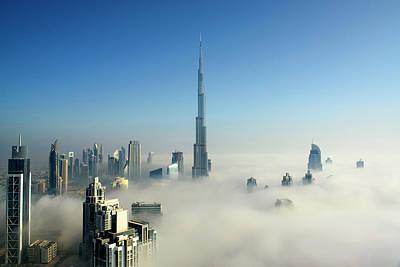 Fog In Dubai Art Print by © Naufal Mq