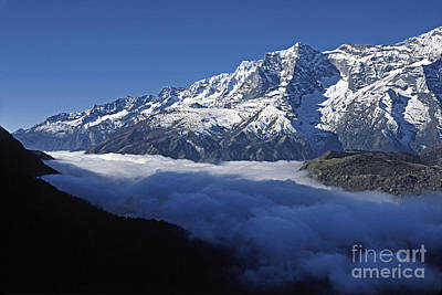 Photograph - Fog In Everest Region by Craig Lovell