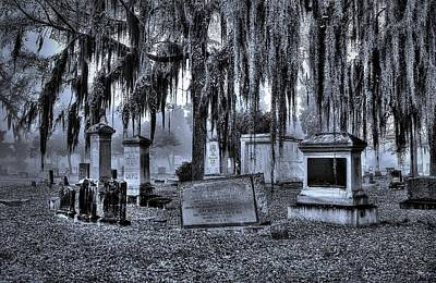 Photograph - Cemetery 1 by Albert Fadel
