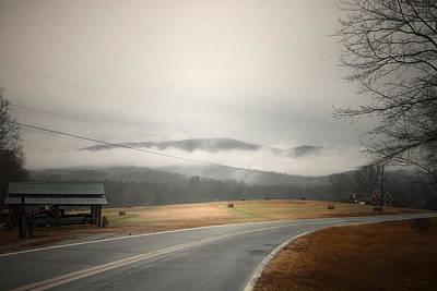 Fog In The Hollow Art Print by Cindy Rubin