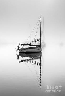 Photograph - Fog Lifting by Butch Lombardi