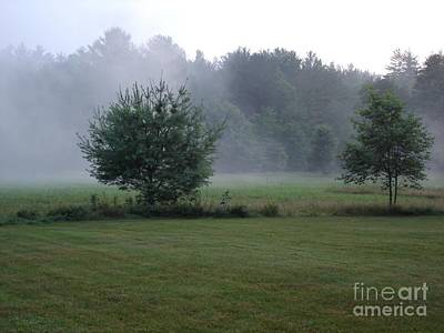 Photograph - Fog Lifting by Kerri Mortenson
