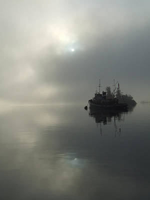 Photograph - Fog by Mark Alan Perry