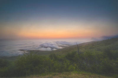 Photograph - Fog On Cadillac Mountain by At Lands End Photography