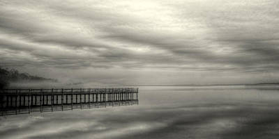 Outoors Photograph - Fog On The Chesapeake  by JC Findley