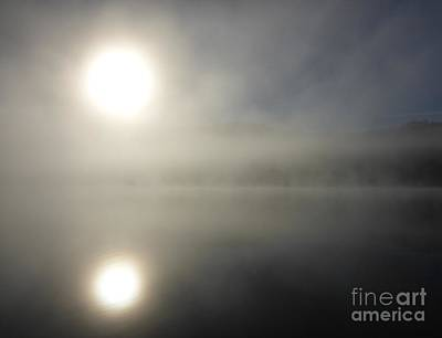 Photograph - Fog On The Lake by Cristina Stefan