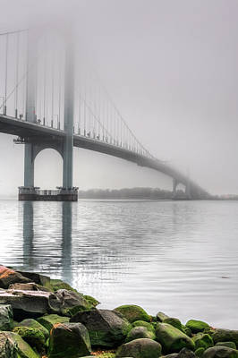 Photograph - Fog On The Long Island Sound by JC Findley